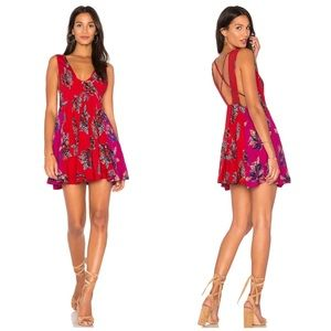 FP Thought I Was Dreaming Floral Mini Dress
